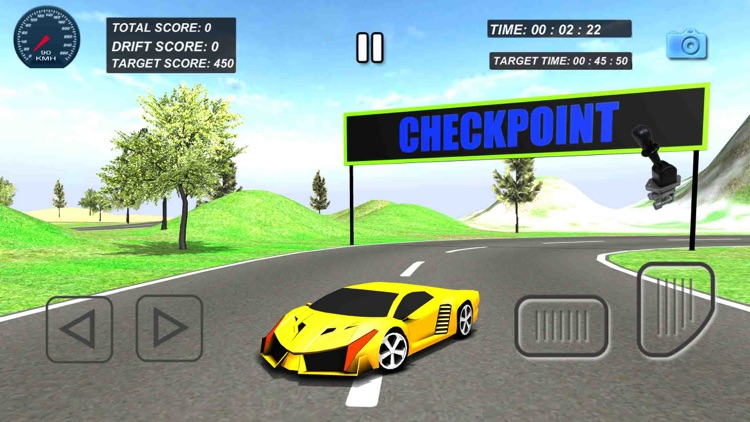Real Car Drift racing Game 3d screenshot-1
