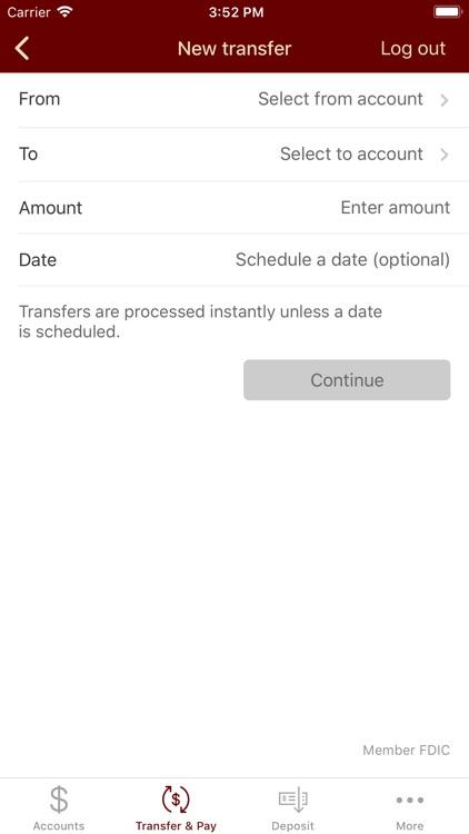 Commerce Bank Texas Mobile screenshot-4