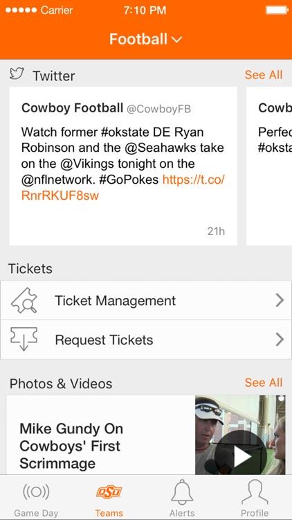 Oklahoma State Athletics screenshot-4