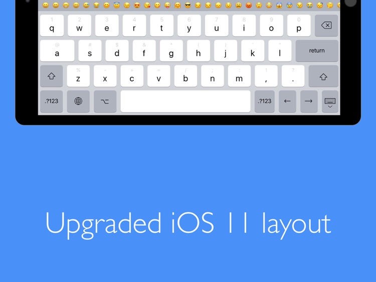 Pro Keyboard - Pc layout for professionals users screenshot-3