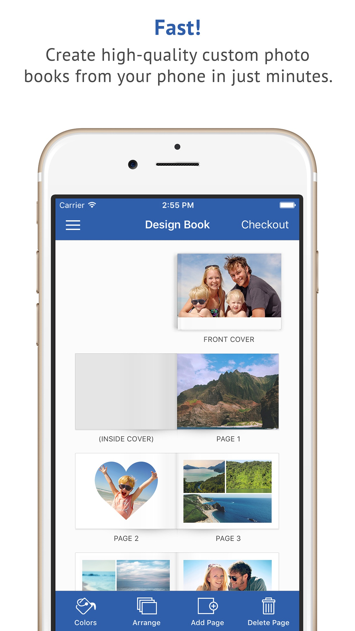 FreePrints Photobooks Screenshot
