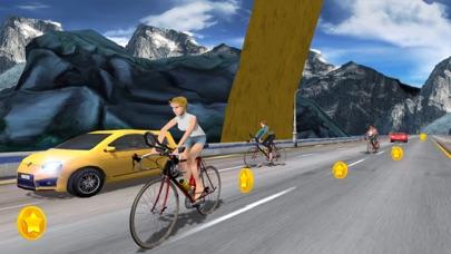In Bicycle Racing on Highway screenshot 4