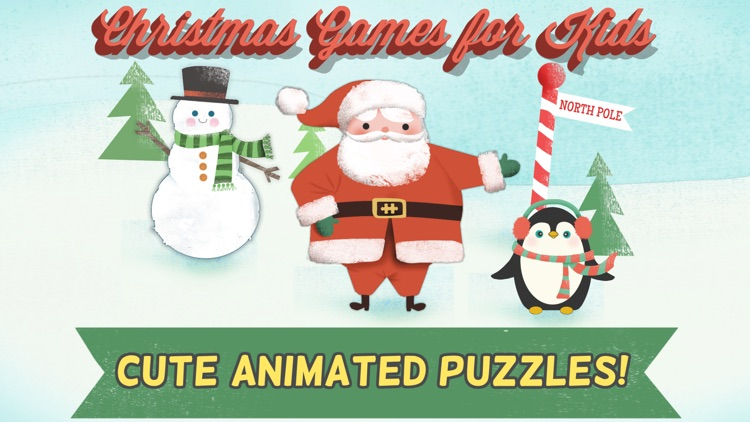 Christmas Games for Kids- Toddler Jigsaw Puzzles