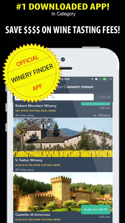 Napa Valley Winery Finder: City Guide Wine Country