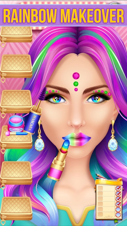Make Up Makeover Salon Party screenshot-1