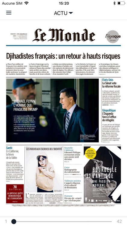 Journal Le Monde screenshot-1