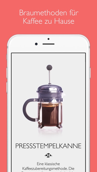 Screenshot for The Great Coffee App in Germany App Store