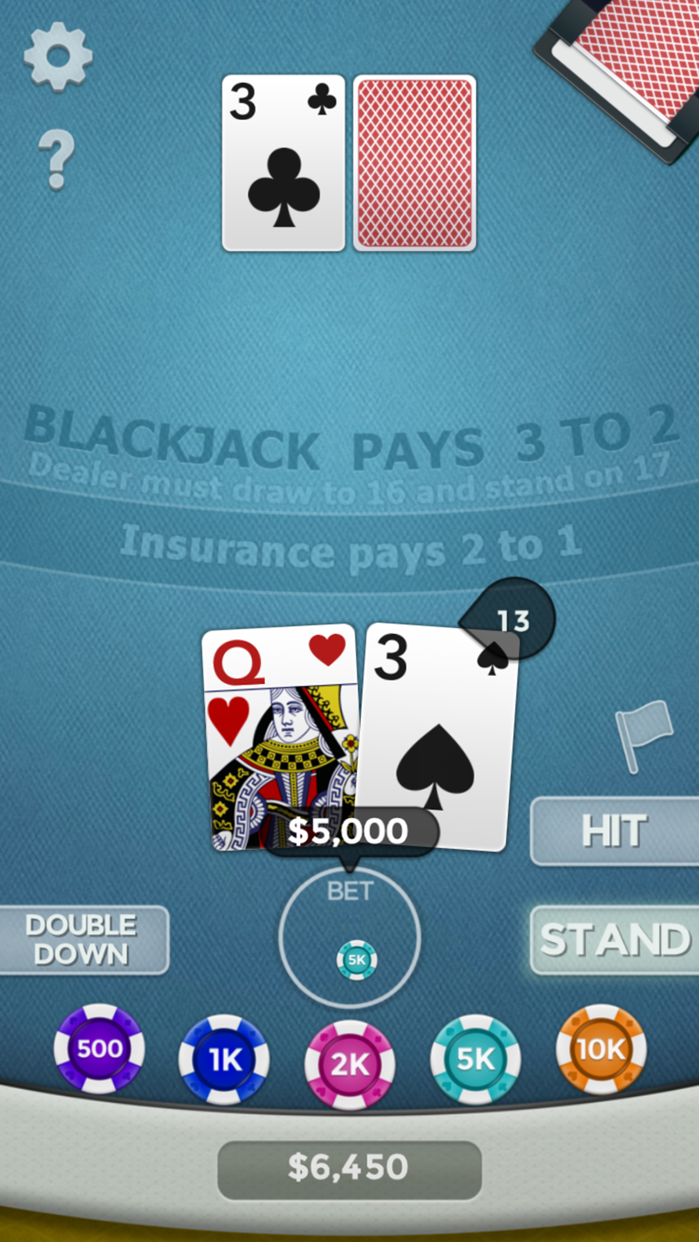 Blackjack 21! Screenshot