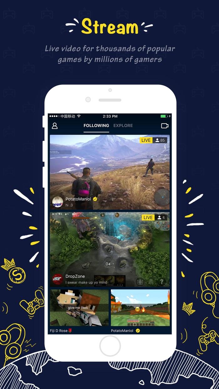 Shou - mobile game streaming! Screenshot