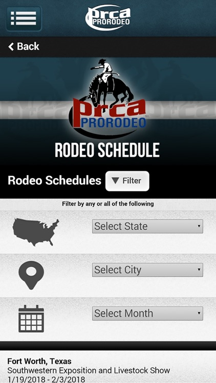 PRCA ProRodeo screenshot-1