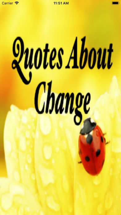 Quotes About Change screenshot one