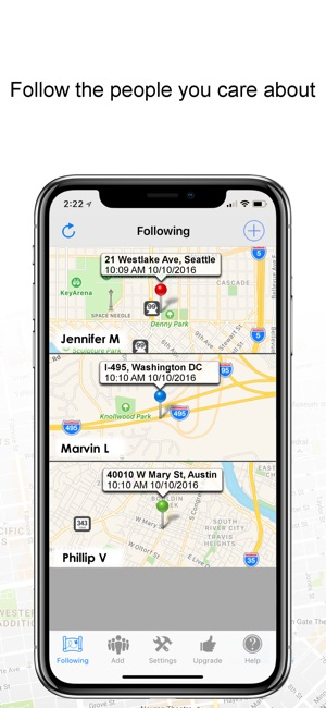 GPS TRACKER:Real-time tracking on the App Store