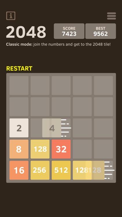 2048 Number Puzzle game screenshot-3