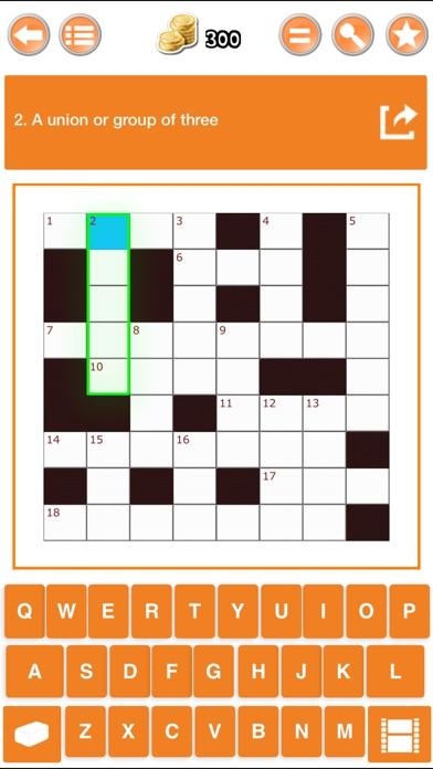 Easy Crossword Puzzle Pro Screenshots