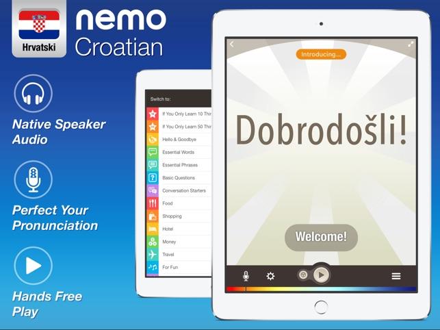 Croatian by Nemo on the App Store