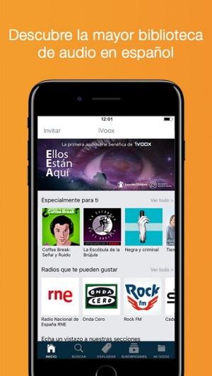 Radio y Podcast iVoox su App Store