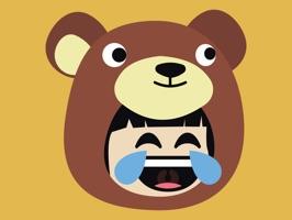 Bear Emoji - Cute Stickers