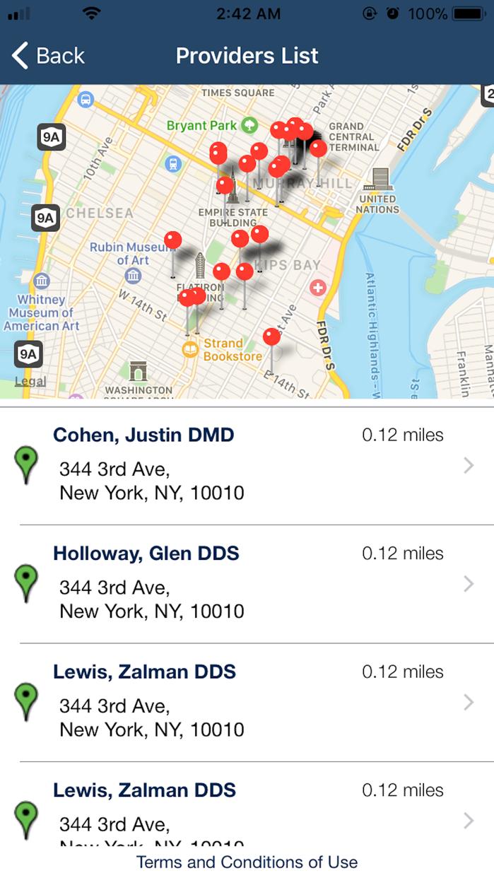 Find a Provider & ID Cards Screenshot