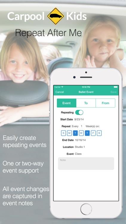 Carpool-Kids screenshot-4