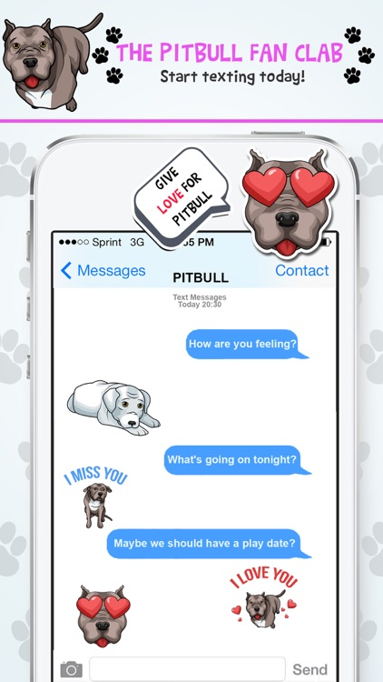 PitbullMoji - Pit Bull Emojis screenshot-4