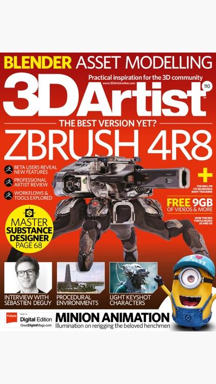 3D Artist Magazine: CG Art and 3D Inspiration