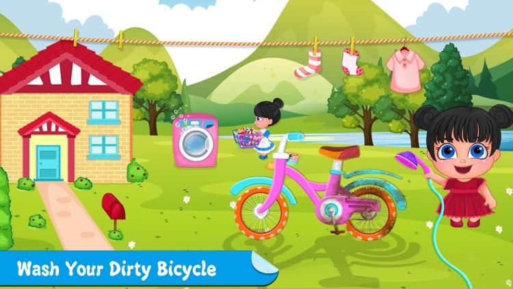 Little Girl Cleanup Adventure screenshot-0