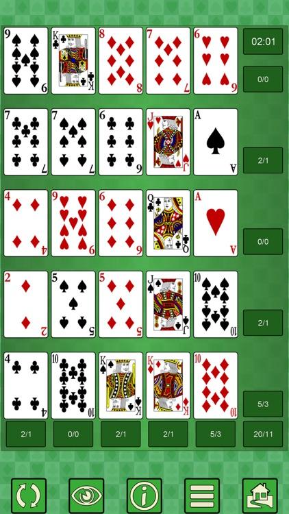 Poker Solitaire V+ screenshot-0