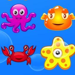 海洋生物来消除 - 全民开心玩游戏