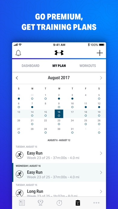 Map My Fitness By Under Armour review screenshots