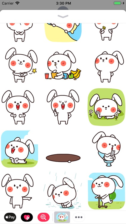Cool Rabbit Animated Stickers