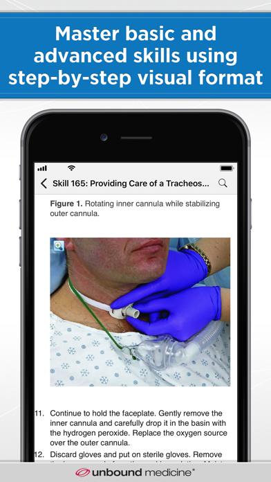 Taylor's Nursing Skills Screenshot