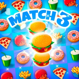 Crush The Burger ! Match 3