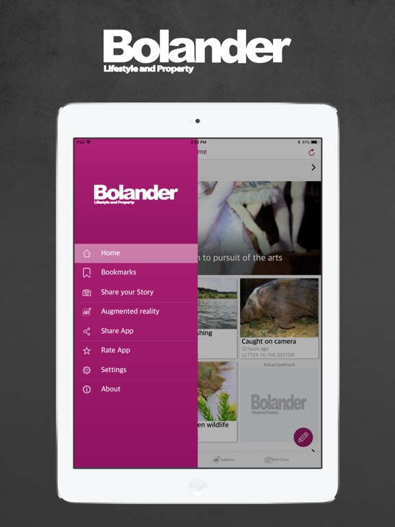 iPad Image of Bolander Lifestyle