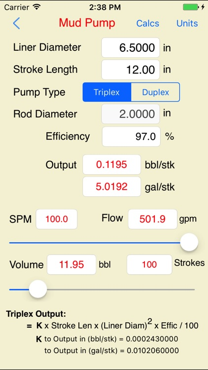 Drilling Hydraulics (Basic) screenshot-2