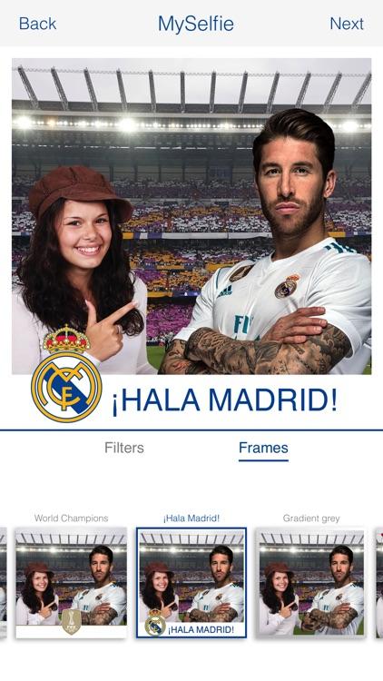 Real Madrid Selfie screenshot-3