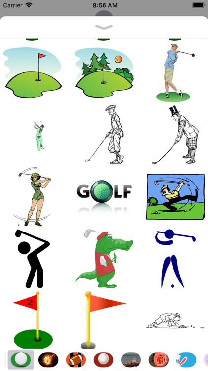 Golf Stickers - 2018