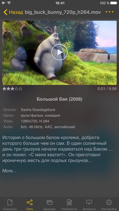 Screenshot for nPlayer Plus in Russian Federation App Store