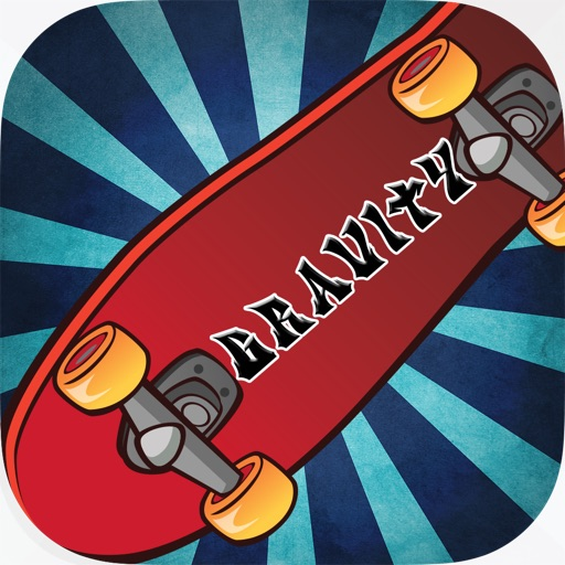 Skate Top Gravity Free iOS App