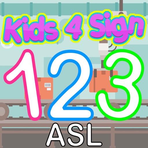 Kids4Sign Numbers ASL iOS App