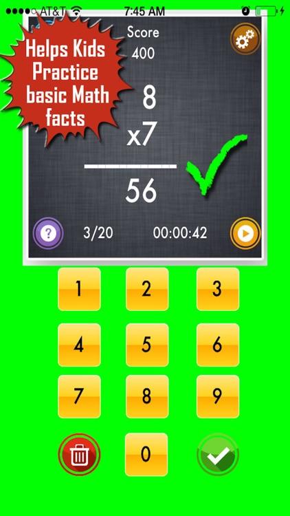 My Math App - Flashcards screenshot-4