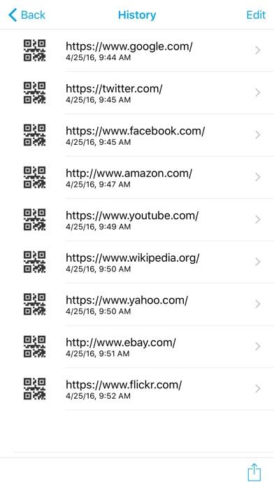 QR Code Reader - QR Scanner Screenshot on iOS