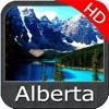 Alberta HD Lakes Fishing maps