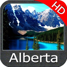 Alberta HD Lakes Fishing maps