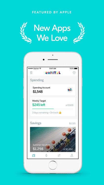 Qapital: Save. Spend. Invest. screenshot-3