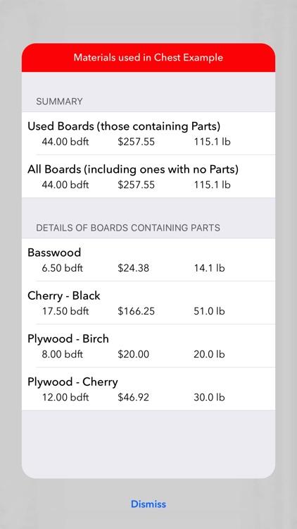 KerfMaker Woodworking Planner screenshot-4