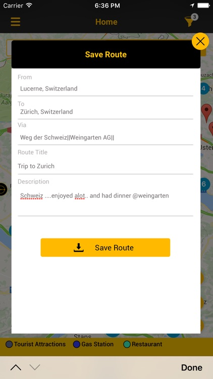 On the Way, the travel planner screenshot-4