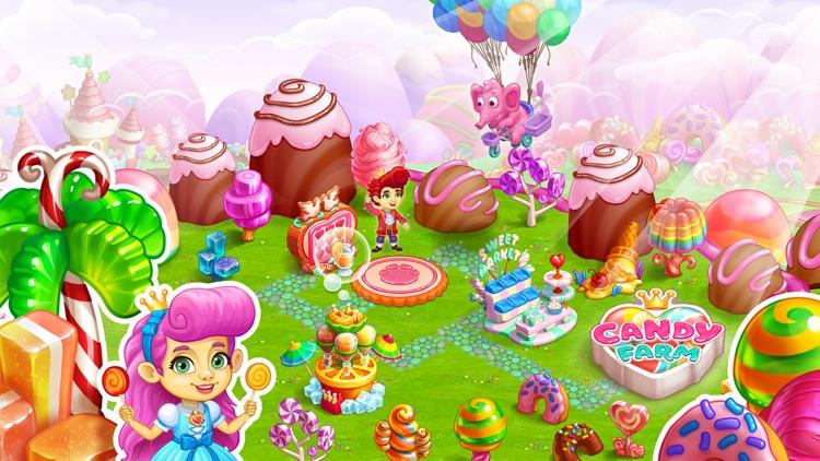 Candy Farm and Magic cake town screenshot-4