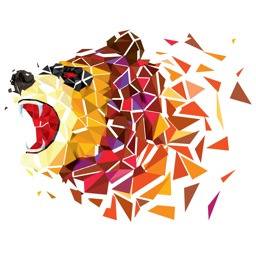 Animal Polygon Art LoPoly Work