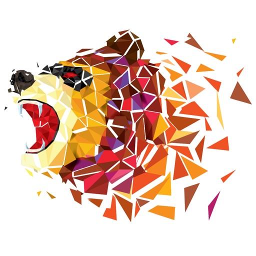 Animal Polygon Art LoPoly Work