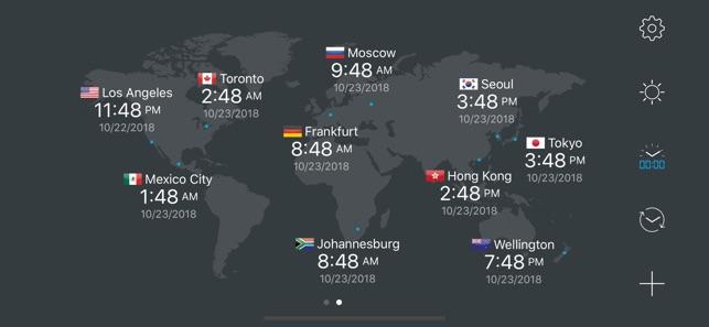 Clock World Map.Map Clock World Map Clock On The App Store